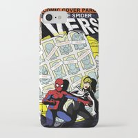 verse iPhone & iPod Cases featuring Days of Spider Verse by Chance L