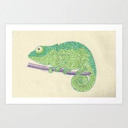 Chameleon? Art Print