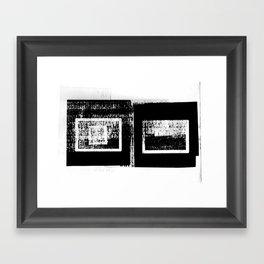 DUPLICITY / 03 Framed Art Print