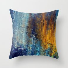 Aqua 55 Throw Pillow