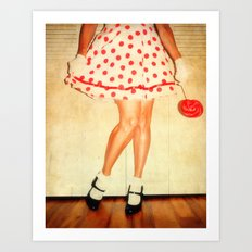 If you carry your childhood with you, you never become older. Art Print