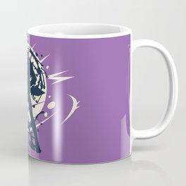 Black Japanese Ninja Warrior Fantasy Silhouette Coffee Mug