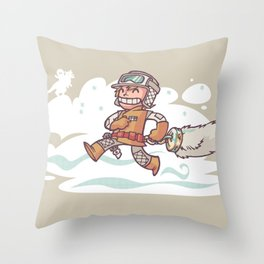 Good Luck Charm! Throw Pillow