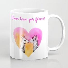 Llama love you forever Coffee Mug