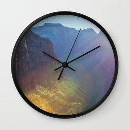 Arousal of Shadows (Zion National Park, Utah) Wall Clock
