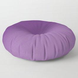 Violet Purple and Velvet Purple Ombré Gradient Abstract Floor Pillow