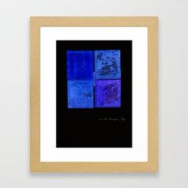 """""""Pour l'amour de l'Inde"""" Framed Art Print"""