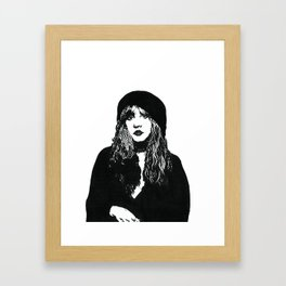 Stevie Nicks  Gerahmter Kunstdruck