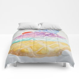 Waffle Sundae Comforters