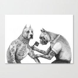 The Tattooist Canvas Print