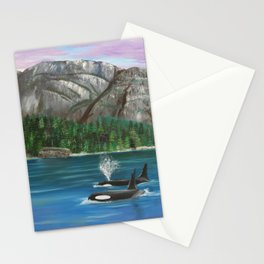 Orcas at the Chief Stationery Cards