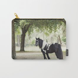 Majestic Horse in Color Carry-All Pouch