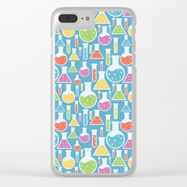 Science Laboratory Clear iPhone Case