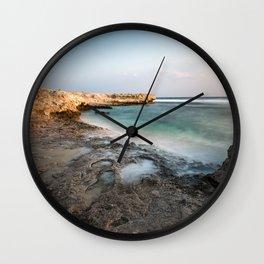 coral coast Wall Clock