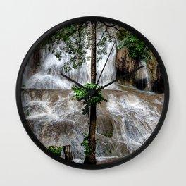 Sai Yok Noi Falls Wall Clock