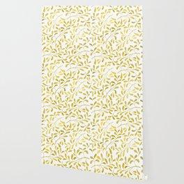Golden Leaves Wallpaper