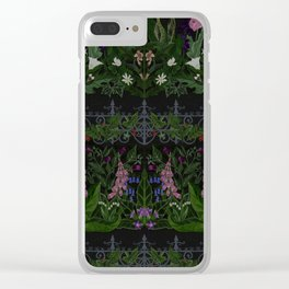 The Poison Garden - Gallimaufrey Clear iPhone Case