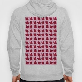 LOVE 3D Icon on pink background Hoody