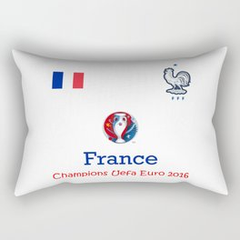 Champion Uefa Euro 2016 France Rectangular Pillow