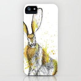 Jack Rabbit II iPhone Case