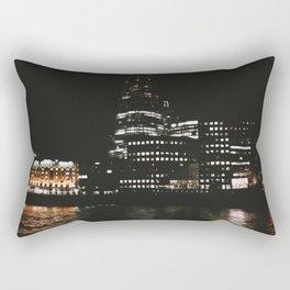 The Shard at Night, London, UK  Rectangular Pillow