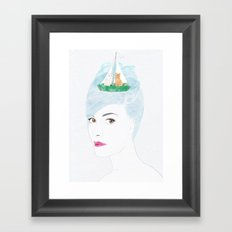 When Audrey Met Edward Framed Art Print