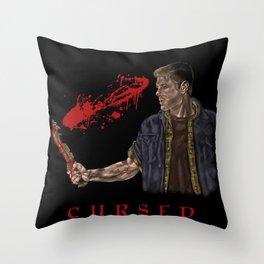Cursed Throw Pillow