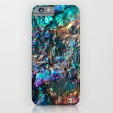 Turquoise Oil Slick Quartz iPhone 6s Slim Case