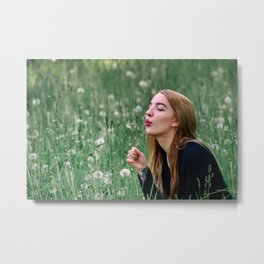 Light Breathing Metal Print