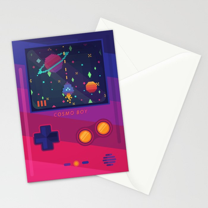 COSMO BOY Stationery Cards