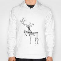 bambi Hoodies featuring Bambi by Moran Bazaz