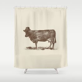 Cow Cow Nut #1 Shower Curtain