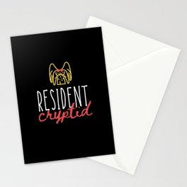 Resident Cryptid 1 Stationery Cards
