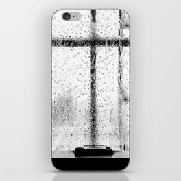 When it rains in Brooklyn iPhone Skin
