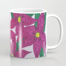 Ultra Violet Lily Bouquet Coffee Mug