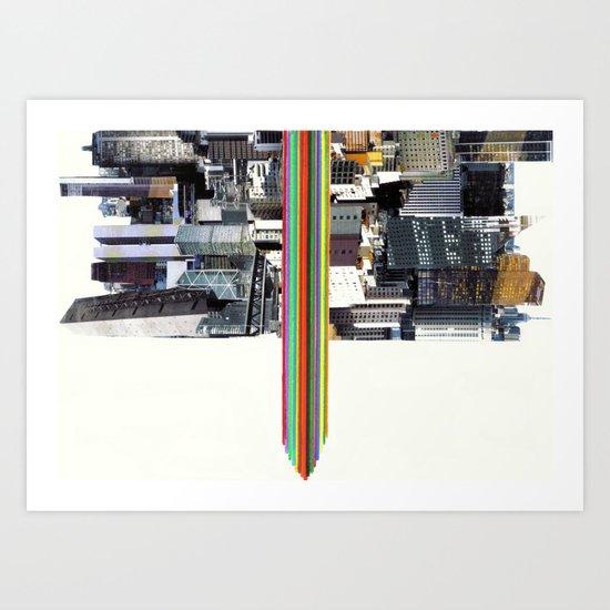 The Invisible Cities (dedicated to Italo Calvino) Art Print
