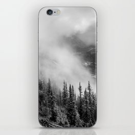 Fog in the Mountains | Black and White Photography | Landscape | black-and-white | bw iPhone Skin