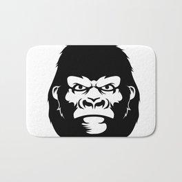 Gorilla face Bath Mat