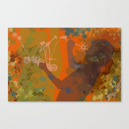 Voyager (Orange) Canvas Print