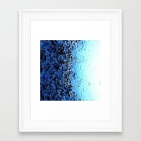 crystals Framed Art Prints featuring CrystalS by 2sweet4words Designs