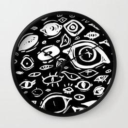 Eyes eyes eyes Wall Clock