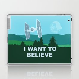 I WANT TO BELIEVE - Star Wars Laptop & iPad Skin