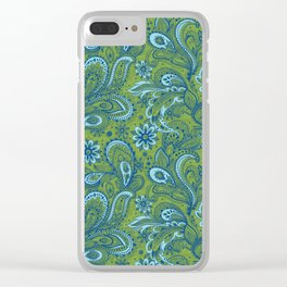 Bright and Fresh Jacobean Clear iPhone Case