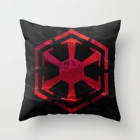 sith Throw Pillows featuring Star Wars Sith Empire by foreverwars