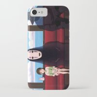 spirited away iPhone & iPod Cases featuring Spirited away by Susan Lewis