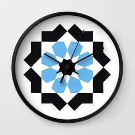 Zellige - logo Wall Clock