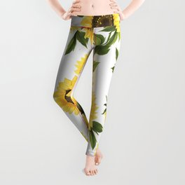 Lovely Sunflower Leggings