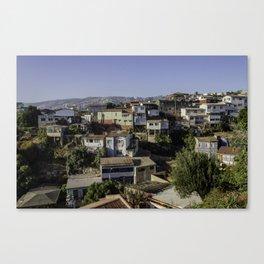 Valparaiso city Canvas Print