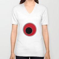 sushi V-neck T-shirts featuring Sushi by Roprats.