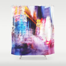 Times Square Photo Shower Curtain